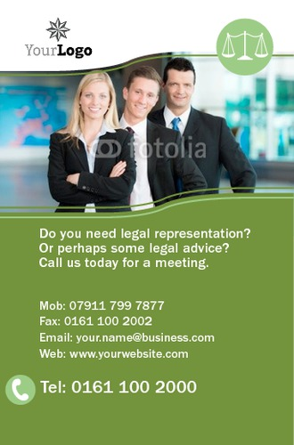 Solicitors Business Card  by Mr Neil Watson 