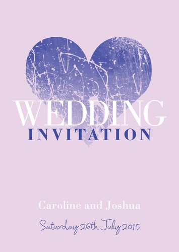  A5 Invitations by Christopher Heath 