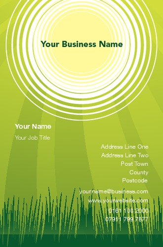 Garden Maintenance Business Card  by Peter Stewart