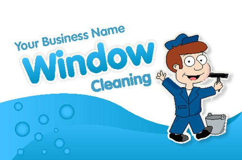 Window Cleaning Business Card  by Edward Augusto