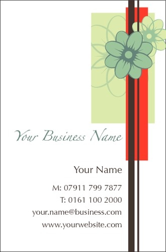 Beauticians Business Card  by Bex Turner