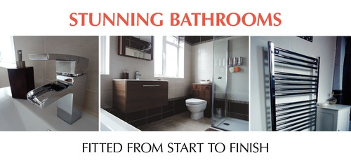 Bathroom Fitters 1/3rd A4 Leaflets by Paul Wongsam