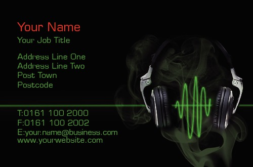 DJ's Business Card  by Talvinder Bhogal