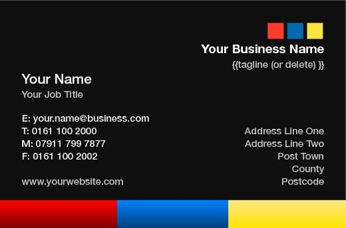 Accountants Business Card  by Luke Peek