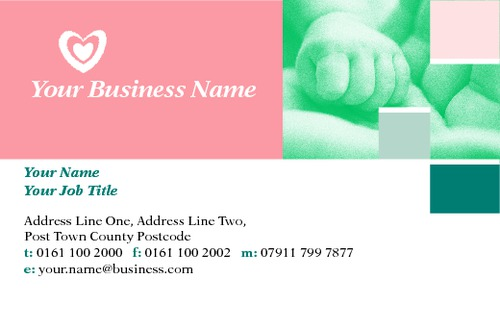Nursery Business Card  by TemplateCloud Team