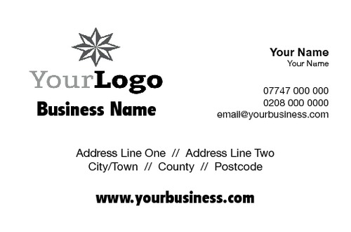 Accountants Business Card  by Robert Doyle