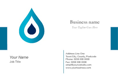 Plumbers Business Card  by Robert Doyle