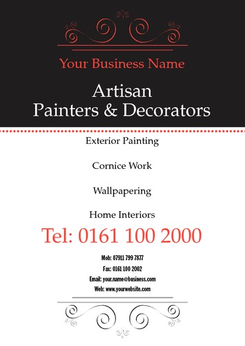 Painters and Decorators A5 Leaflets by Mr Neil Watson