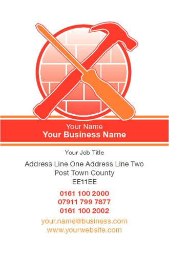 Builders Business Card  by Paul Bullock 