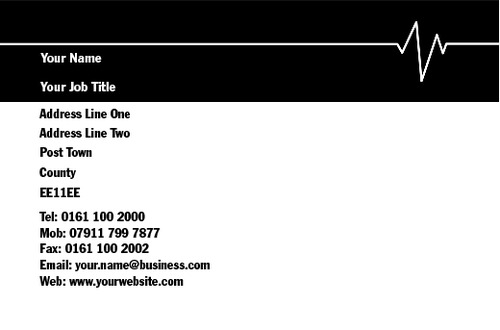 Electrician Business Card  by Mr Neil Watson
