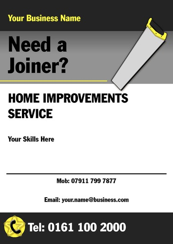 Joiners A5 Leaflets by Mr Neil Watson