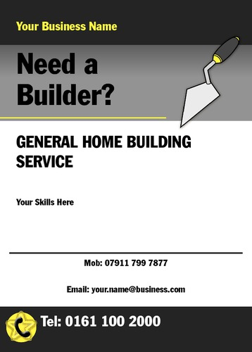 Builders A6 Leaflets by Mr Neil Watson