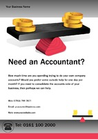 Accountants A5 Leaflets by