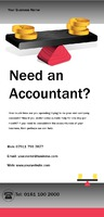 Accountants 1/3rd A4 Leaflets by