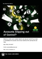 Accountants A6 Leaflets by