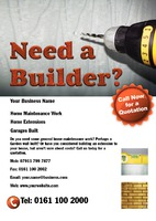Builders A5 Leaflets by  