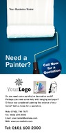 Painters and Decorators 1/3rd A4 Leaflets by