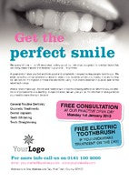 Dentists A5 Leaflets by