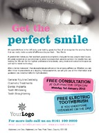 Dentists A6 Leaflets by