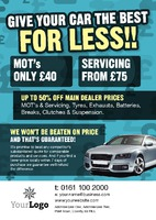 Garage Services A5 Flyers by