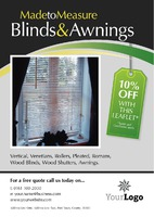 Curtains & Blinds A5 Leaflets by
