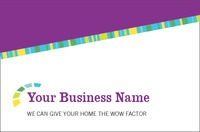 Home Improvement Business Card  by