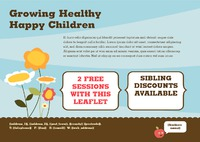 Nursery A5 Leaflets by Templatecloud
