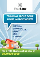 Home Maintenance A4 Leaflets by