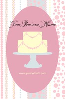 Bakers Business Card  by Templatecloud