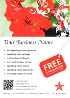 Event Organisers A6 Leaflets by