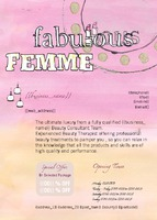 Beauticians A6 Leaflets by Templatecloud