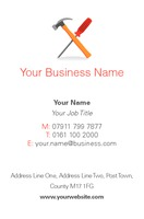 Handyman Business Card  by Templatecloud