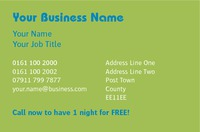 Dog Care Business Card  by