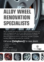 Automotive A6 Leaflets by