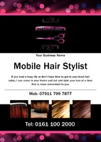 Hair A5 Flyers by  