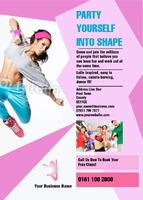 Dance A6 Leaflets by  