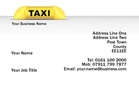 Taxi Business Card  by