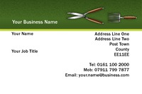 Garden Maintenance Business Card  by  