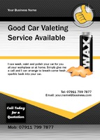 Car Wash A6 Flyers by