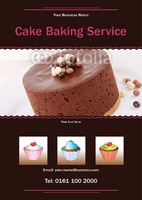 Cake Decorators A5 Leaflets by