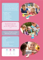Nursery A4 Leaflets by