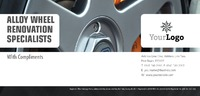 Automotive 1/3rd A4 Stationery by