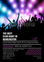 Clubs A6 Leaflets by