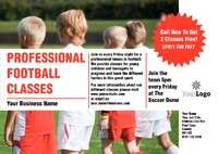 Football A5 Flyers by  