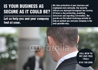 Security A6 Leaflets by  