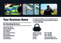 Security A4 Leaflets by 