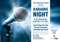 Karaoke A4 Leaflets by  