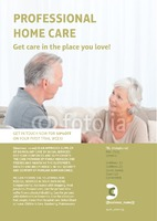Care Homes A5 Flyers by Claudia Vergine