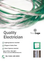 Electrician A6 Flyers by