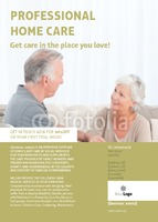 Care Homes A6 Flyers by Claudia Vergine